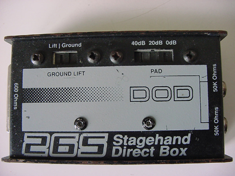 DOD 265 Stagehand Direct Box