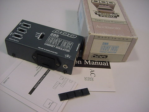 DOD 285 Grey Box Cabinet Emulator - $65 00 : Studio1525