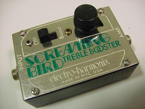 electro harmonix screaming bird treble booster studio1525 vintage musical equipment. Black Bedroom Furniture Sets. Home Design Ideas