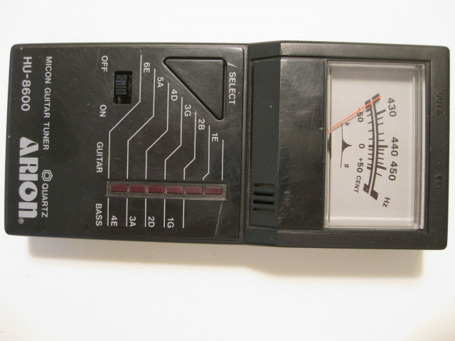 Arion HU-8600 Micon Guitar Tuner