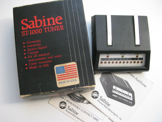 Sabine ST-1000 Chromatic Tuner