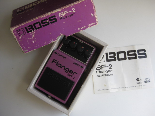 BOSS BF-2 Flanger Silver Screw