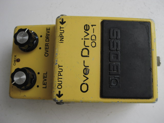 BOSS OD-1 Overdrive Silver Screw