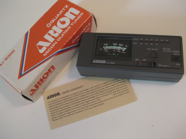 Arion HU-8300 Micon Guitar Tuner