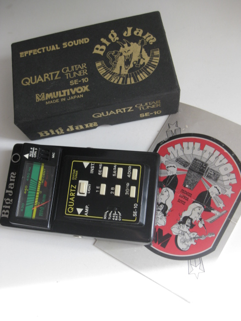 Multivox Big Jam SE-10 Guitar Tuner